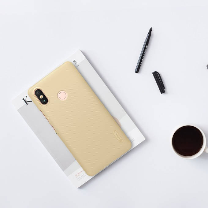Oригинален калъф за Xiaomi Mi Max 3, Nillkin XI338-Zlaten, златист image