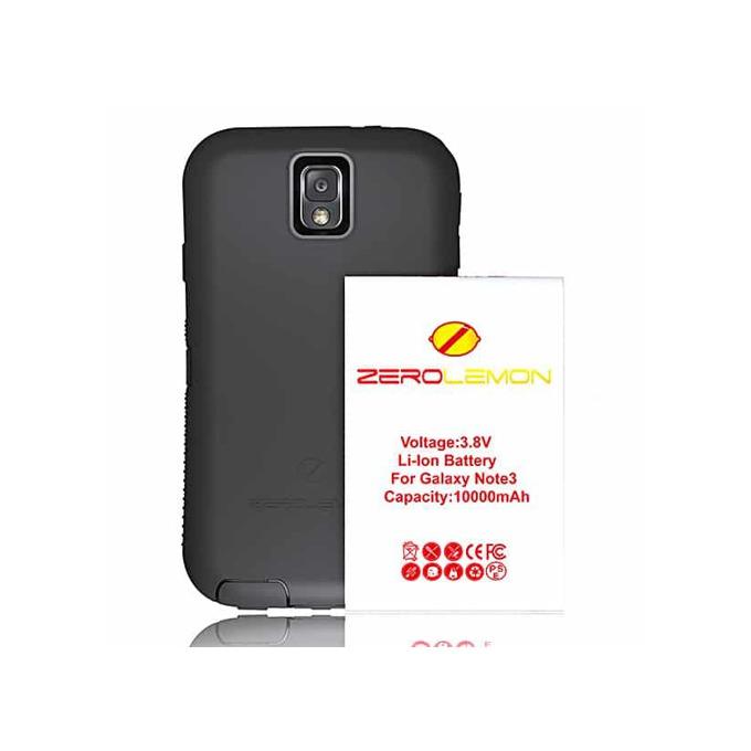 Протектор ZeroLemon с батерия за Samsung Galaxy Note 3, черен image