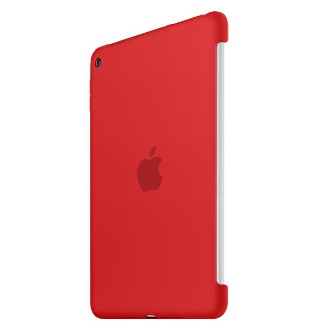 """Оригинален силиконов протектор Apple за таблет iPad mini 4, до 7.9"""" (20.07 cm), червен image"""