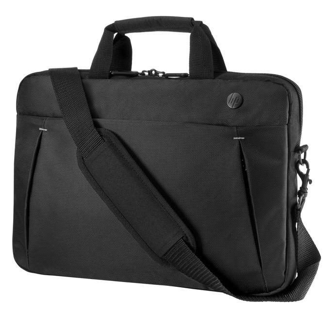 "Чанта за лаптоп HP Business Slim, до 14.1"" (35.81 cm), за през рамо, черна image"