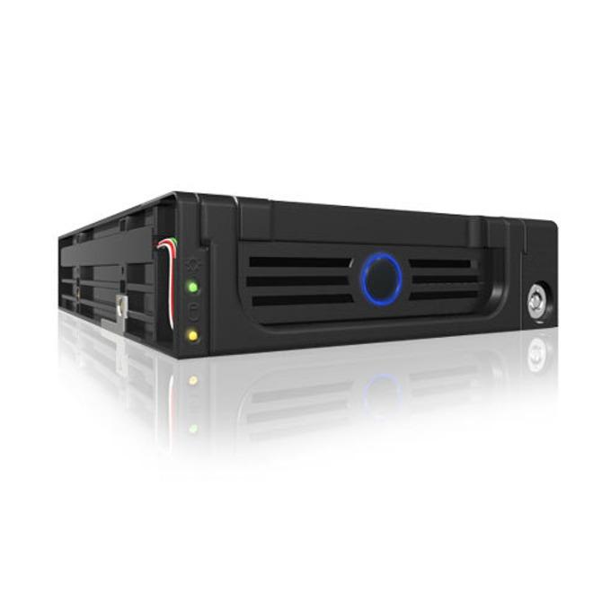 """Кутия 3.5""""(8.89 cm) за вграждане, RaidSonic IB-128SK-B, за 3.5"""" SATA I/II HDD, SATA конектори, 1x 4pin Molex image"""