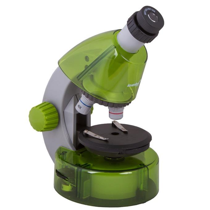 Микроскоп Levenhuk LabZZ M101 Lime, увеличение до 640x, набор за експерименти  image