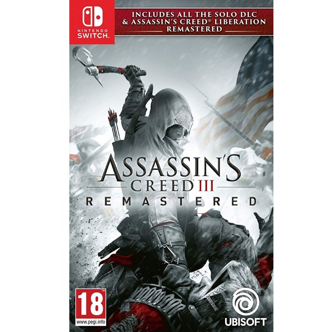 Assassin's Creed III Remastered + All Solo DLC & Assassin's Creed Liberation, за Nintendo Switch image
