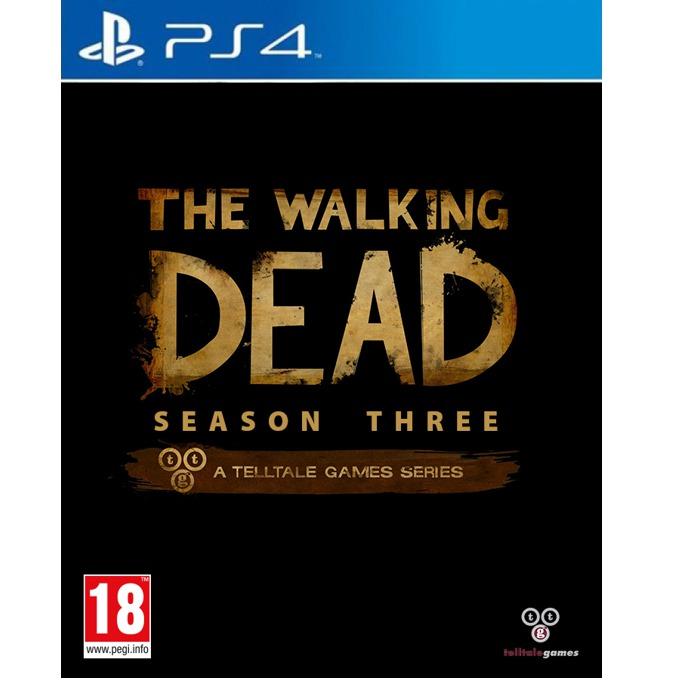 Игра за конзола The Walking Dead Season 3, за PS4 image