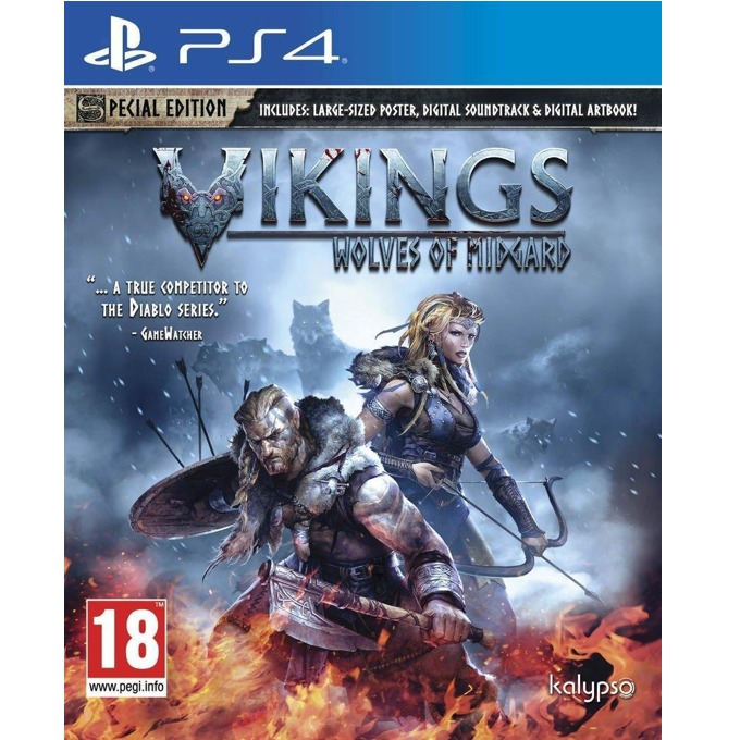 Игра за конзола Vikings: Wolves of Midgard Special Edition, за PS4 image