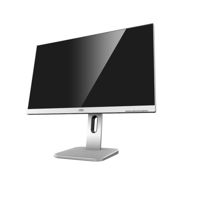 """Монитор AOC 24P1/GR, 23.8"""" (60.452 cm) IPS панел, FHD, 5ms, 50000000:1, 250cd/m2, VGA, HDMI, DVI-D, DisplayPort, USB image"""