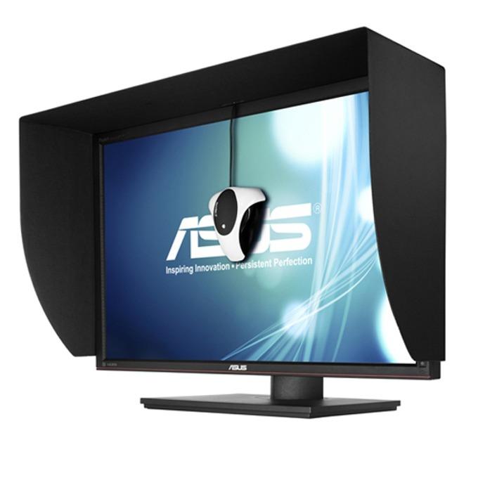 """Монитор ASUS PA248QJ, 24.1"""" (61.13cm) IPS панел, Full HD, 6ms, 80 000 000:1, 300cd/m2, HDMI, DVI, DisplayPort, 4-портов USB хъб, черен, TCO 5.2 image"""