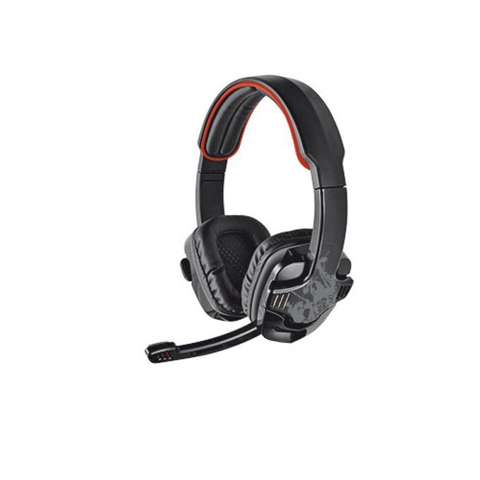Геймърски слушалки TRUST GXT340 7.1 - черно и червено image