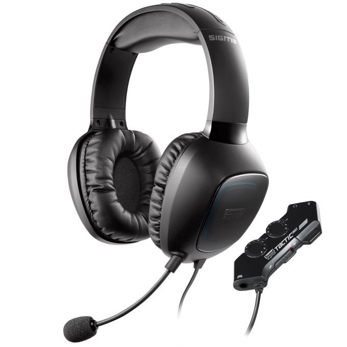 Слушалки Creative Labs Sound Blaster Tactic 360 Sigma- 105dB/mW, USB, микрофон image
