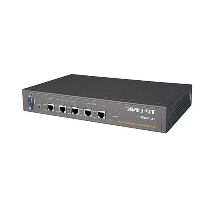 Рутер TP-Link TL-R480T+, 1x WAN 10/100, 3x WAN/LAN 10/100, 1x LAN 10/100, 64MB RAM, 4MB Flash памет image