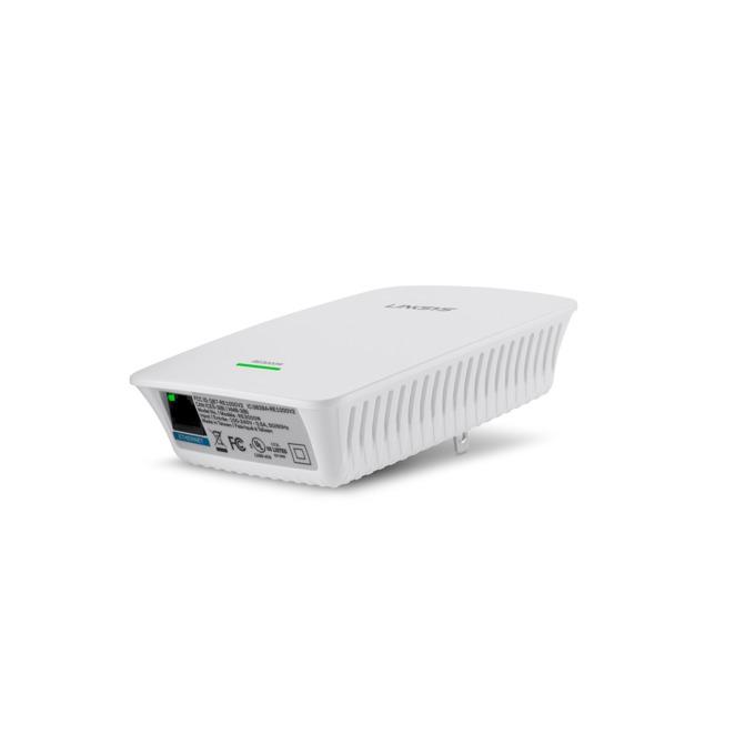 Extender/Екстендър, Linksys RE3000W, 300Mbps Wireless-N Range, 1 x 10/100 Ethernet Port image