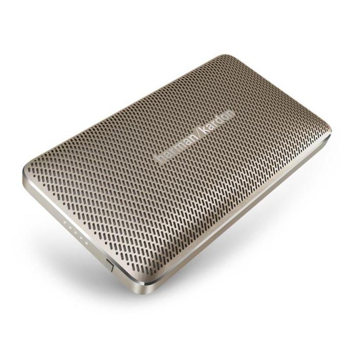 Тонколона Harman Kardon Esquire Mini, 1.0, 8W, Bluetooth, USB, златиста, микрофон image