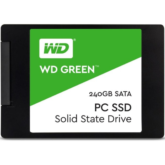SSD 240GB Western Digital Green WDS240G2G0A