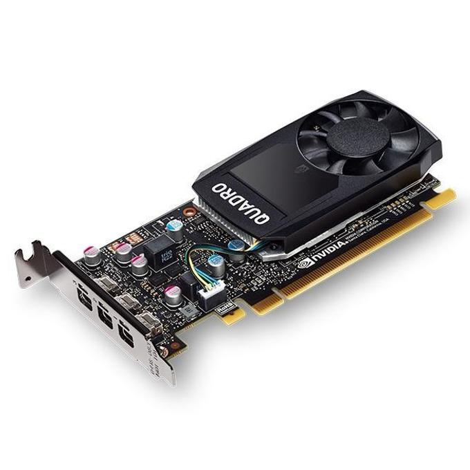 Видео карта NVIDIA Quadro P400, 2GB, PNY VCQP400-PB, PCI-E 3.0, GDDR5, 64-bit, 3x mDisplayPort image