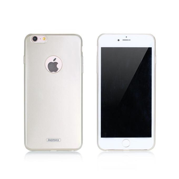Калъф iPhone 6/6S Plus, заден капак, термополиуретанов, Remax Jorya, TPU, Златист image