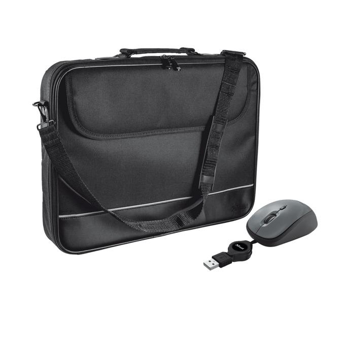 "Чанта Trust Carry Bag 18902, за лаптоп до 16"" (40.64 cm) + оптична мишка USB image"