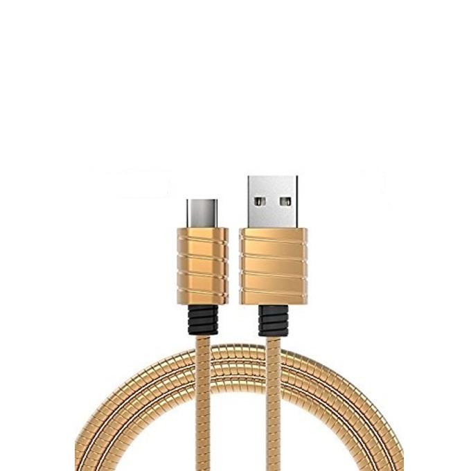 Кабел iWalk, USB(м) към USB Type C(м), 1m, златист image
