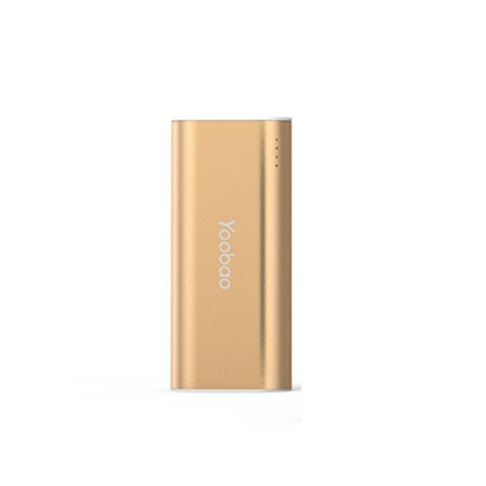 Външна батерия /power bank/, Yoobao, YB S2, 5200 mAh, златист image
