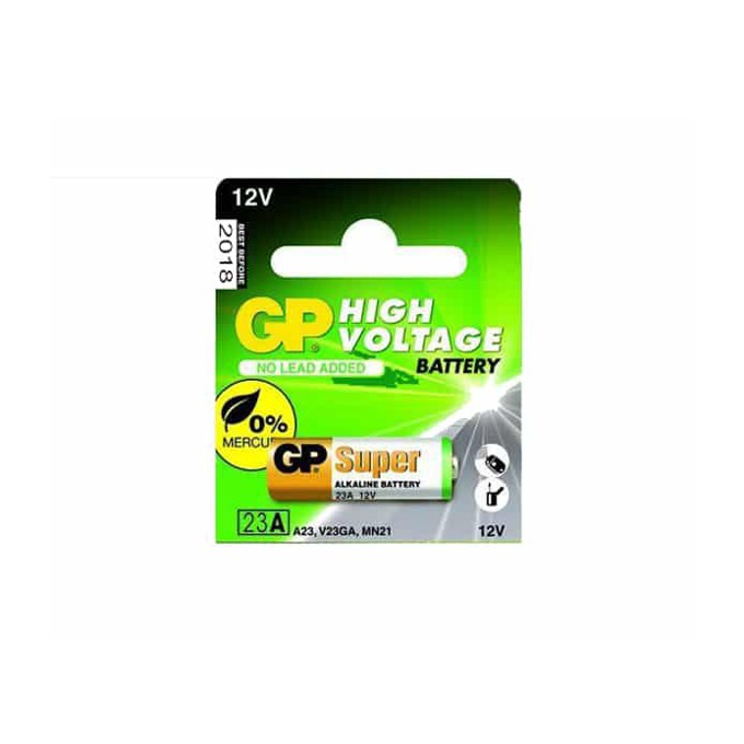 Батерия алкална GP High Voltage, A23, 12V, 1бр. image