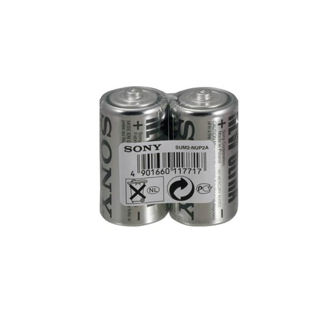 Батерия цинкова Sony New Ultra SUM2NUP2A, R14, 1.5V, 2бр. image