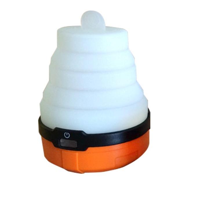 Фенер UST Brands Spright, 3x AA, 100 lumens, с разгъване, водоустойчив, авариен, оранжев image