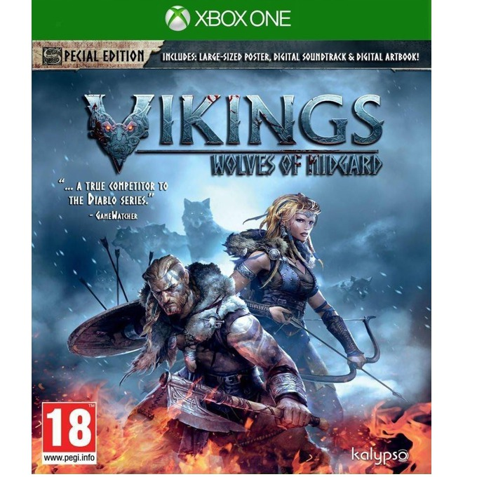 Игра за конзола Vikings: Wolves of Midgard Special Edition, за Xbox One image