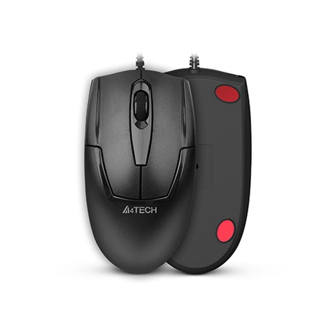 Мишка A4tech OP-540NU, оптична (1000dpi), USB, черна  image