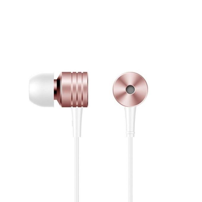 Слушалки 1MORE Piston Classic, микрофон, контрол на звука, дълбок бас, 3.5mm жак, розови image