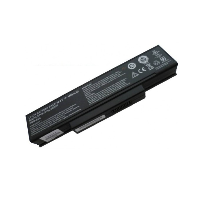 Батерия (оригинална) за лаптоп Gigabyte, съвместима с модели Benq Joybook R55 R55E R55V R55VE R55VEG R55VU, 6 cells, 10.8, 4400mAh image