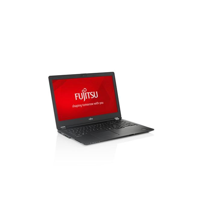 "Лаптоп Fujitsu Lifebook U758 (U7580M37SBRO), четириядрен Kaby Lake R Intel Core i7-8550U 1.8/4.0 GHz, 15.6"" (39.62 cm) Full HD Anti-Glare Display, (DP), 8GB DDR4, 256GB SSD, 1x USB Type C, Windows 10, 1.72 kg image"