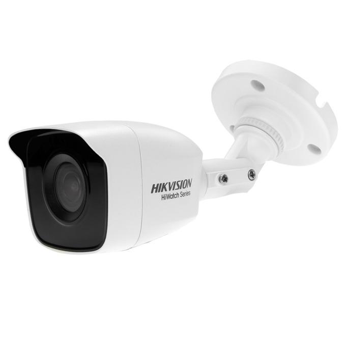 "HDCVI камера HikVision HWT-B140-M, насочена ""bullet"" камера,, 4MPix(2560x1440@25fps), 2.8/3.6/6 mm, IR осветеност (до 20 m), външна IP66 image"