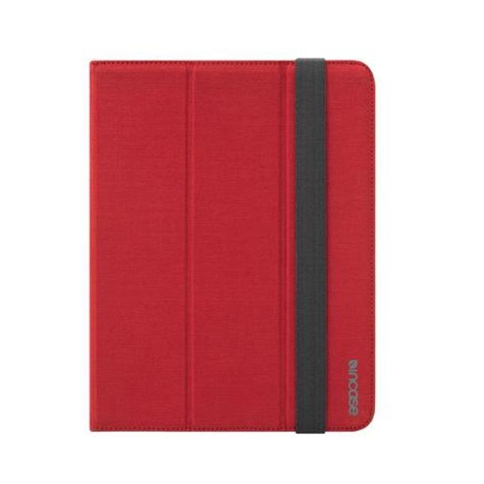 Калъф Incase Maki Jacket, кожен (canvas), за iPad 2/3/4, червен image