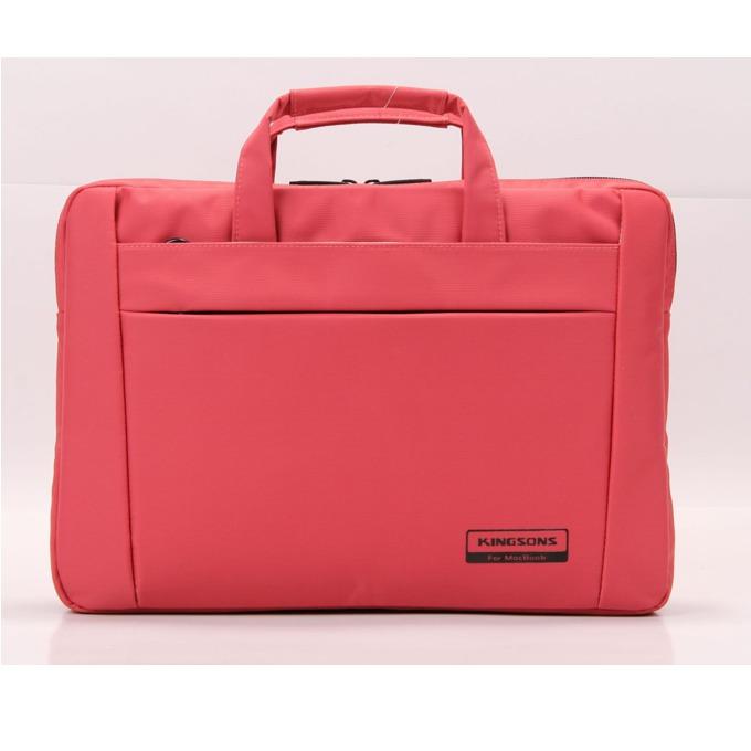 "Чанта за лаптоп Kingsons Chisel Series (KS6195W-P) за лаптопи до 13.3""(33.78 cm), розова image"