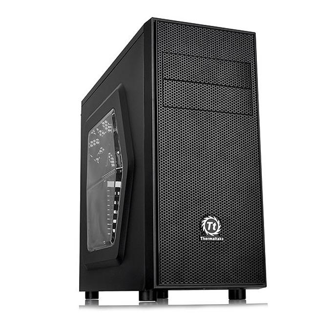 ATX/Micro ATX, Thermaltake Versa H24, прозорец, черна, без захранване image