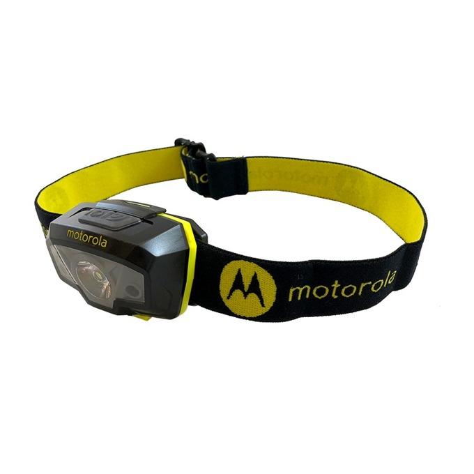 Челник Motorola MHL240, 3х AAA батерии, 250 lumens, водоустойчив, черен image