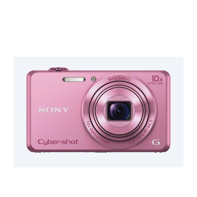 "Фотоапарат Sony Cyber Shot DSC-WX220, розов, 10xOptical zoom, 18.2Mpix, 2.7"" (6.86cm) екран, SDHC, micro USB, micro HDMI image"