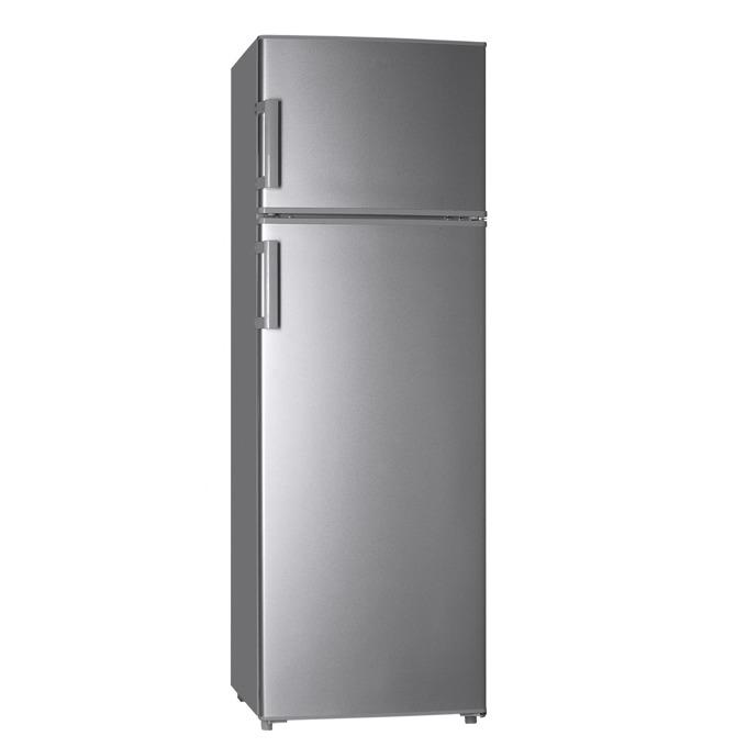 Хладилник с фризер Finlux FLN-315A IX, клас A+, 252 л. общ обем, свободностоящ, 234 kWh/годишно, LED осветление, инокс image