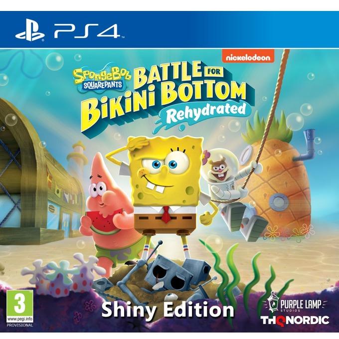 Игра за конзола Spongebob SquarePants: Battle for Bikini Bottom - Rehydrated - Shiny Edition, за PS4 image
