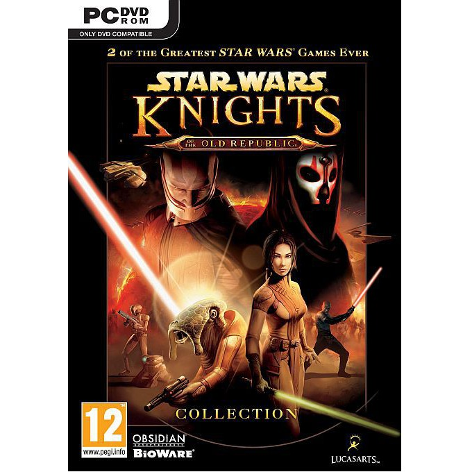 Игра Star Wars Knights Of The Old Republic Collection, за PC image