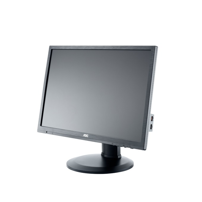 """Монитор AOC I2460PXQU, 24""""(60.96 см), IPS панел, WUXGA, 1ms, 50000000:1, 300 cd/m2, HDMI, DVI, DP, VGA image"""