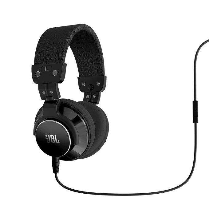 Слушалки JBL Bassline, микрофон, черни image