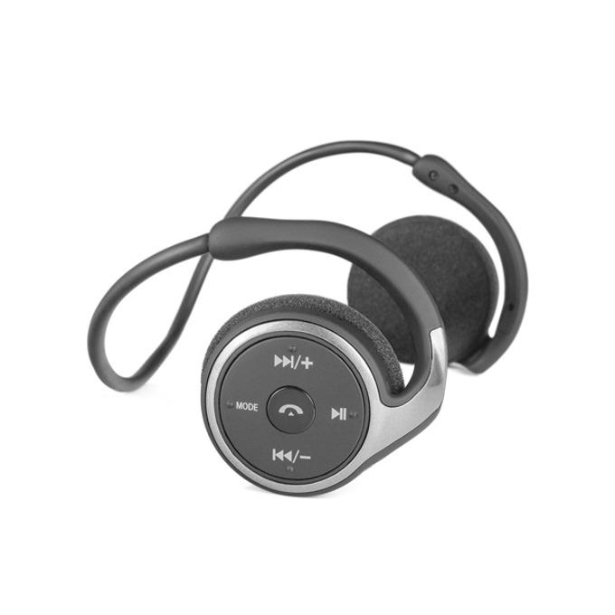 Слушалки Modecom MC-250B B, микрофон, безжични, черен image