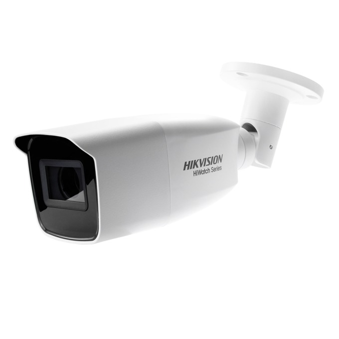 "HDCVI камера HikVision HWT-B340-VF, насочена ""bullet"" камера,, 4MPix(2560x1440@25fps), 2.8 mm/12 mm, IR осветеност (до 40 m) външна IP66 image"
