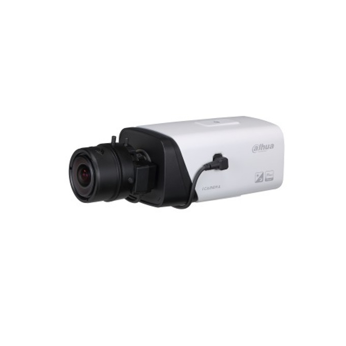 "IP камера Dahua IPC-HF5431E, насочена ""bullet"", 4Mpix(2560x1440)@25Fps, без обектив, H.265(+)/H.264(+), PoE, 2x алармени входа, 1x алармен изход. 1x аудио вход, 1x аудио изход. image"