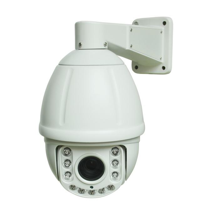 AHD камера Longse PT6A018HTC200NS, куполна PTZ(pan/tilt/zoom), 2 Mpix, 5.35mm-96.3mm обектив, IR осветеност (до 100 метра), външна, IP66 защита, PoE image