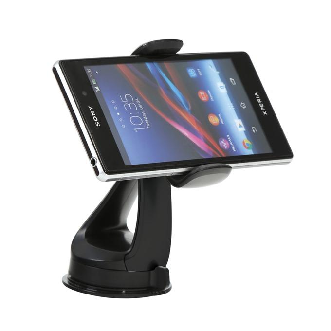 Стойка за кола Omega Lime, универсална, за смартфони с ширина до 82mm, черен image