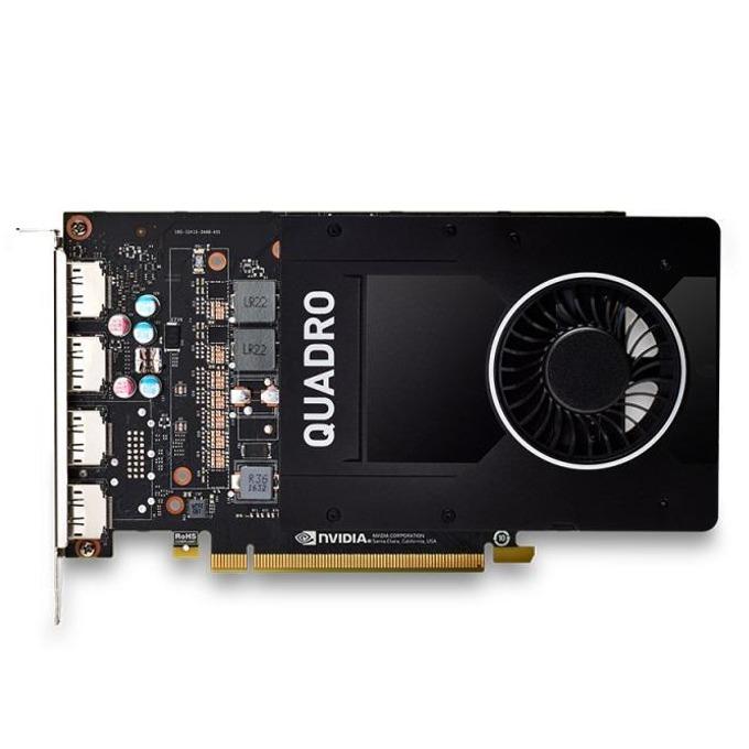 Видео карта Nvidia Quadro P2000, 5GB, PNY VCQP2000-PB, PCI-E 3.0, GDDT5, 160-bit, 4x Display Port image