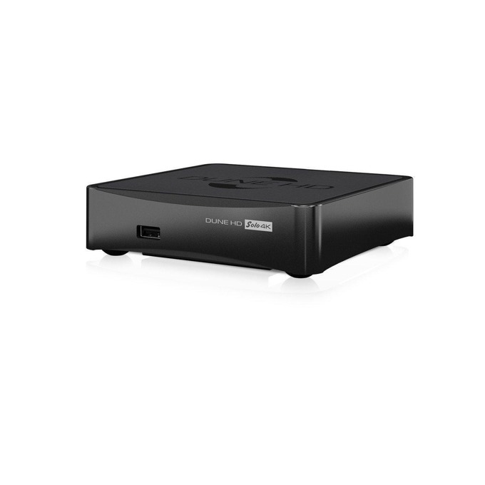 Медиа плейър DUNE Solo 4K Base, двуядрен Sigma Designs SMP8758 1.2GHz, 1GB RAM, 4GB Flash памет, Wi-Fi, HDMI, USB, LAN1000 image