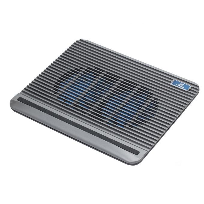 "Охлаждаща поставка за лаптоп Rivacase 5555, за лаптоп до 15,6""(39.62cm), сива image"