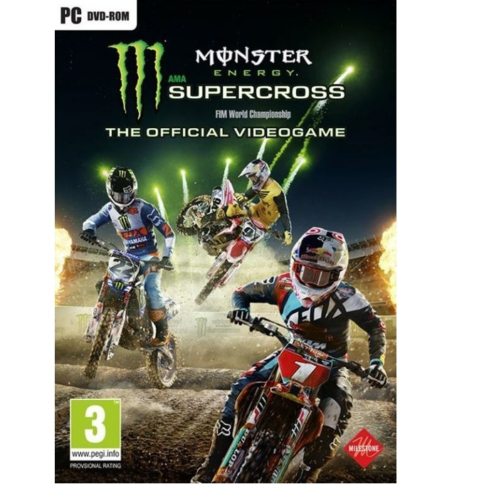 Игра Monster Energy Supercross - The Official Videogame, за PC image